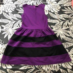 Love...ady Purple and Black Dress